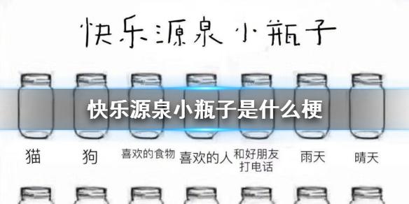 微信朋友圈快乐源泉小瓶子是什么梗 抖音快乐源泉小瓶子怎么涂
