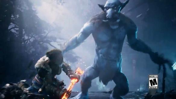 《龙与公开城:暗中同盟》沃夫加演示 用巨锤横扫仇敌