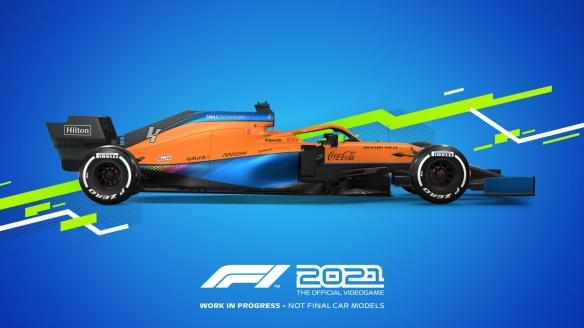 《F1 2021》将于7月17日登岸全平台 冲动民气的全新故事弄法上线
