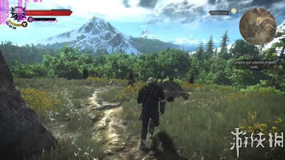 《巫师3:狂猎》e3光照mod演示 看看风景也是极好的