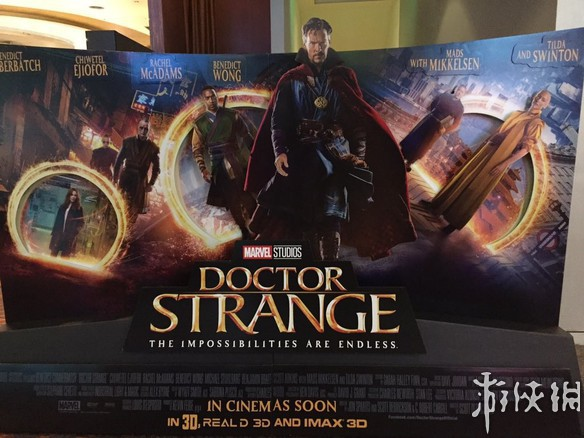 漫威超级英雄电影《奇异博士》新海报