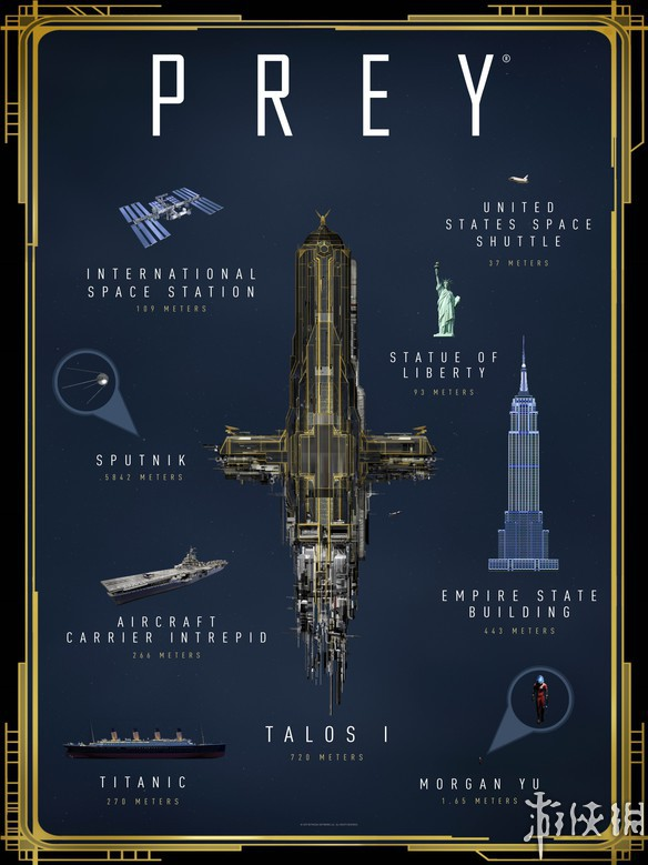 B社发布《掠食》空间站示意图 为现实中空间站的7倍