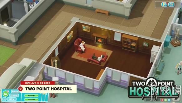 E3  2018:《双点医院》12分钟演示公布 继承前作逗比作风