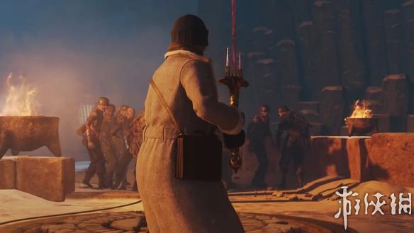 《使命召唤14:二战》新僵尸图15分钟演示 苦战铸圣剑