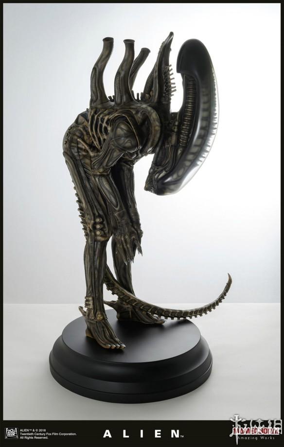 异形雕像售价1万2:预计2019年1月发售,限定750体