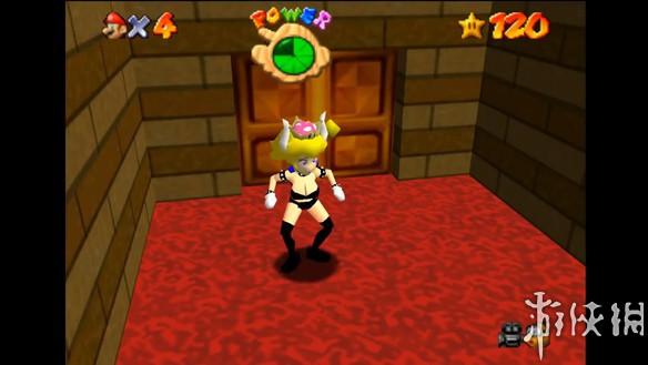 玩家打造《超级马里奥64》库巴公主 一半体重在胸前