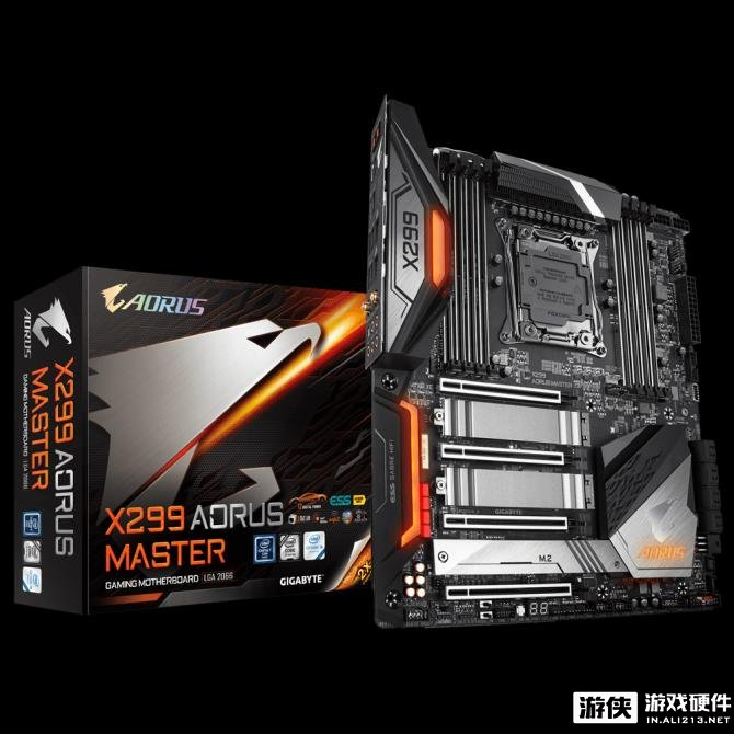 发挥9代Core X性能!技嘉发布X299 AORUS MASTER主板