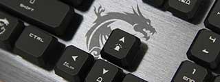 更轻更稳!微星GK50矮轴超薄机械键盘上手体验