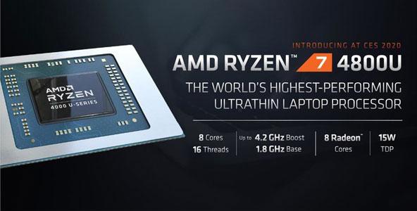 CES 2020 AMD发多款新品 3990X携移动端Zen2大杀四方