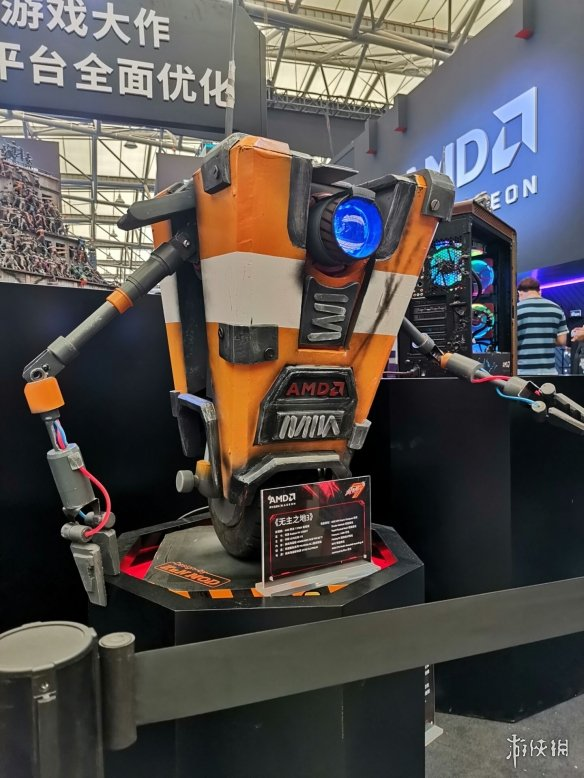 CJ19:ChinaJoy2019首日现场惊现《无主之地3》小吵闹定制AMD主机