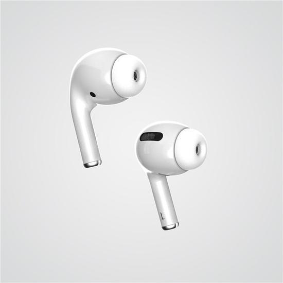 渲染图再曝光!苹果新款 AirPods 或有四种配色!