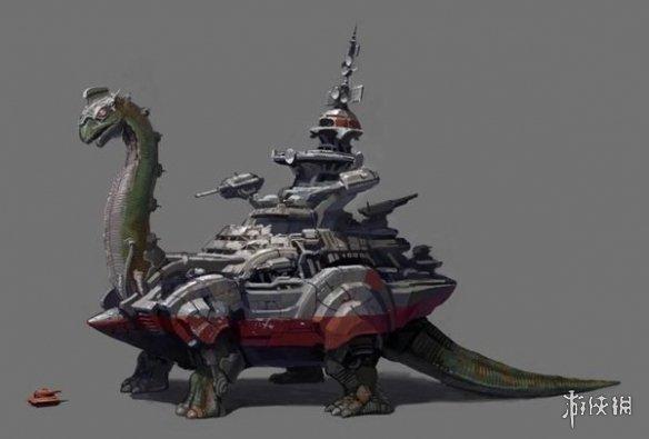 兽化机械BOSS来袭!《重装机兵Xeno:重生2》首次公开概念图!