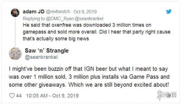 超自然恐怖游戏《奥森弗里》累计销量已突破100万套