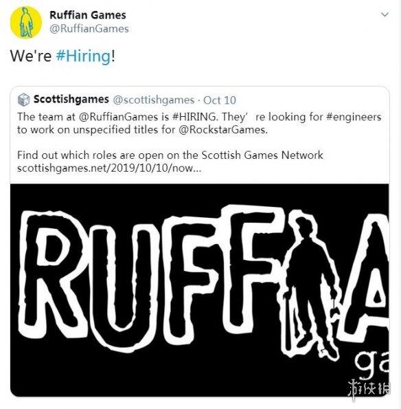 《除暴战警2》开发商Ruffian Games正在帮R星开发一款多人游戏新作!