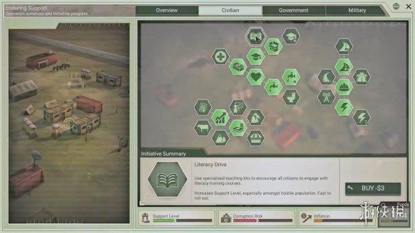 军事策略新作《反叛公司》登陆steam 重建战后秩序消灭叛军