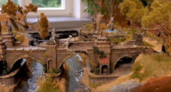 高玩打造《暗黑3》场景微缩景观模型 精湛手艺的完美体现