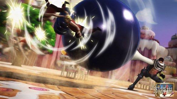 《海贼王无双4》最新截图发布 宿敌之战一触即发!