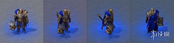 《魔兽争霸3:重制版》英雄模型曝光 细节精度大幅提高