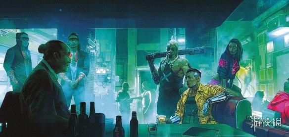 《赛博朋克2077》四张精美艺术图开卖 游戏四大帮派亮相