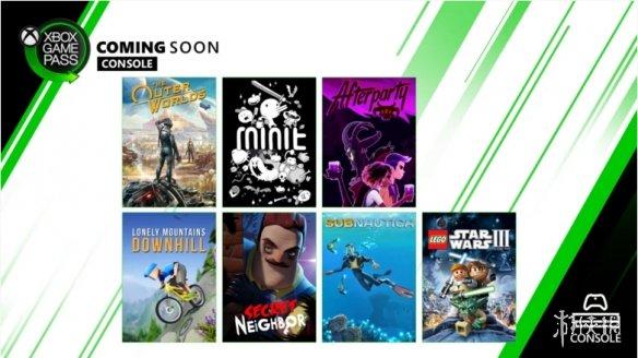 XGP10月、11月新增7款精品游戏!《天外世界》白嫖