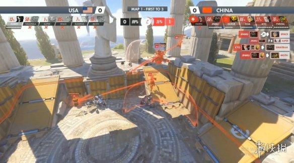 《守望先锋》世界杯中国队0:3负于美国队 夺得亚军