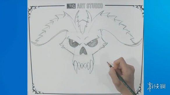 暴雪嘉年華:美術師教你繪制《暗黑破壞神》迪亞波羅