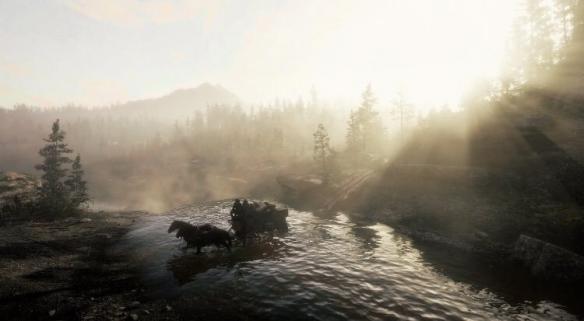 《荒野大镖客2》pc版照相模式令人惊艳 玩家秒变带摄影师!