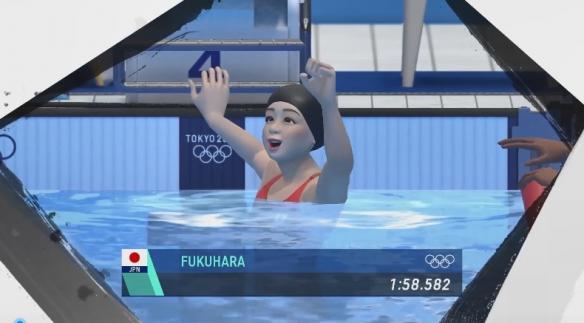 《2020东京奥运》福原爱CM影像: 讲解200公尺混泳