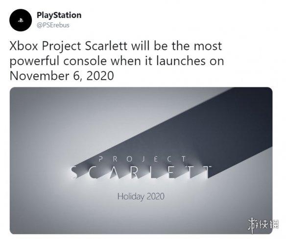 """""""最强主机""""XboxScarlett将于2020年11月6日发售?"""
