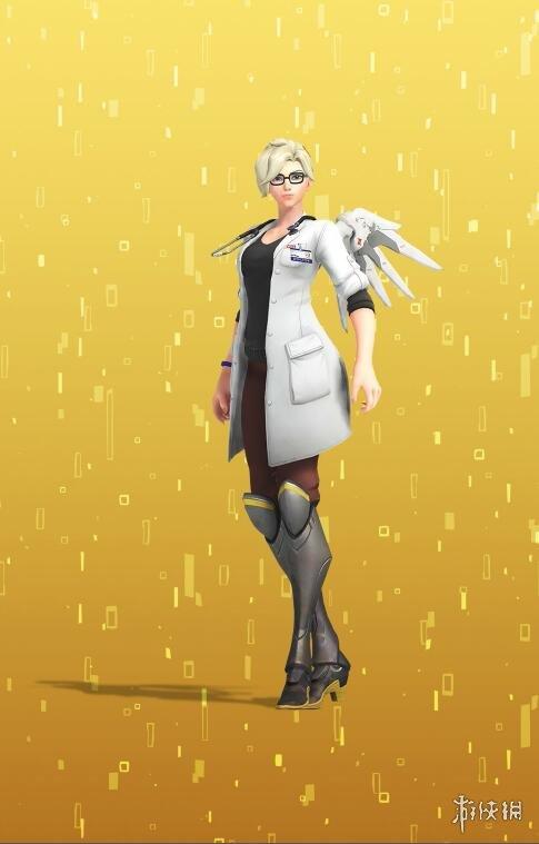 《守望先锋》天使的回归大挑战 齐格勒博士新皮肤真好看