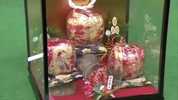 日本又现奇葩发明 这样的苹果为什么能卖到上万元!