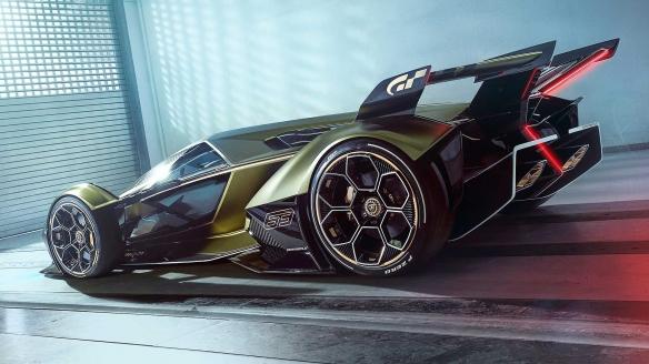 GT&兰博基尼发布概念超跑VGT:超炫四驱车有市无价!