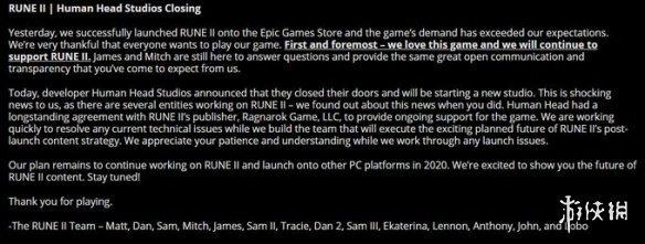 《符文2》發行商無奈起訴開發商要求賠償并維護更新