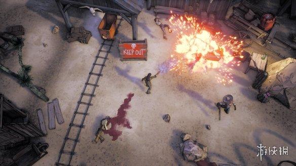 《怪异西部》首批截图发布黑色幻想风格西部世界