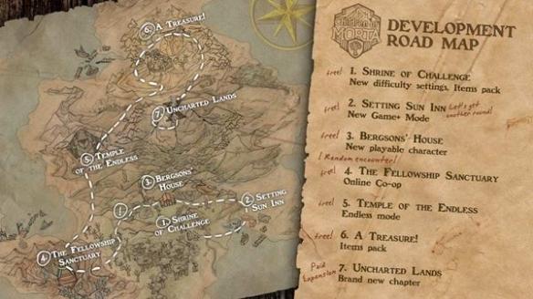 像素复古风游戏《莫塔之子》2020年更新计划公开!