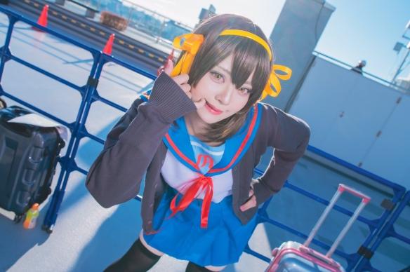 C97超可爱小姐姐cos合集 Enako和伊织萌你要哪个?