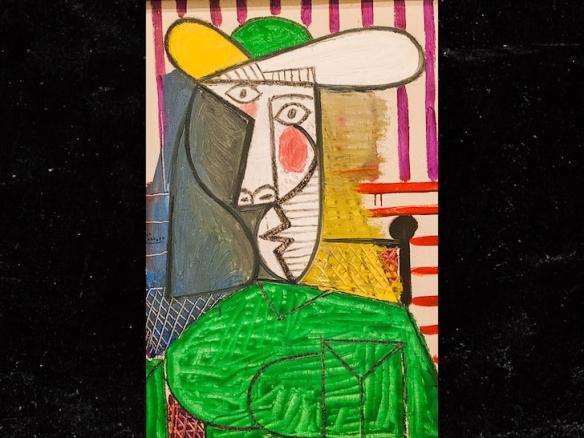 荣誉骑士秘籍_价值1.8亿元的毕加索名画被撕 20岁男子已被逮捕