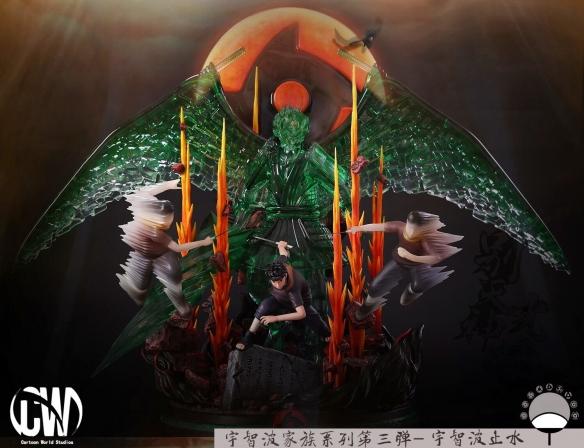 混乱武林单机版_《火影忍者》宇智波止水战斗雕像:最完美的呈现!