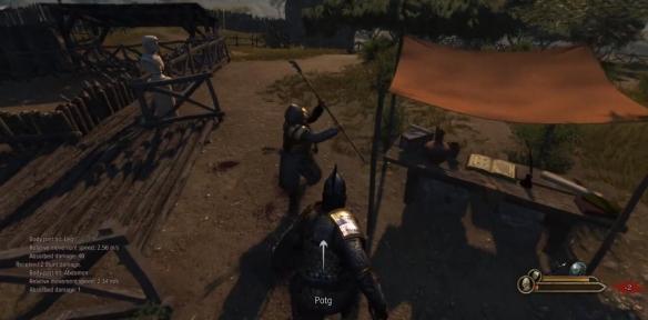 """骑马与砍杀2抢先测试真就只有""""骑马""""和""""砍杀""""啊"""