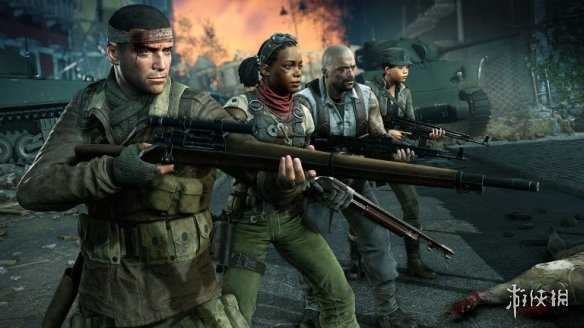 多人合作丧尸射击游戏《僵尸部队4》游戏容量曝光!
