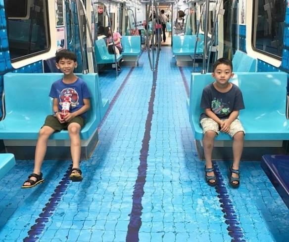 中国地铁列车里夏天可以游泳?22个走心的城市设计