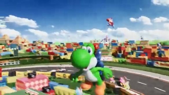 超级任天堂世界主题公园宣传片 东京奥运会前开业!