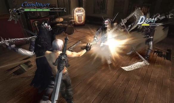 NS版《鬼泣3》新增多人玩法 但丁维吉尔兄弟合作砍怪