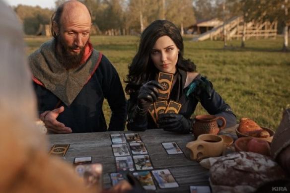 《巫师3》杰洛特、叶奈法COS颜值太赞官方也来转发