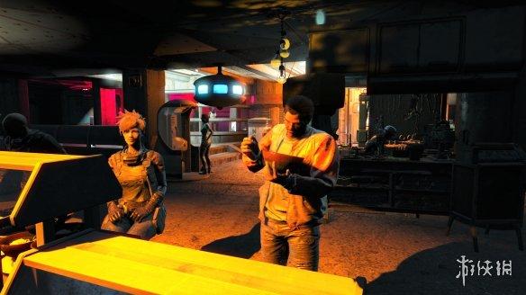 玩家将《辐射4》魔改为《赛博朋克2077》效果太震撼!