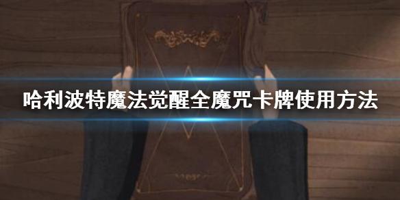 哈利波特魔法覺醒全魔咒卡牌使用方法 神鋒無影卡牌效果一覽