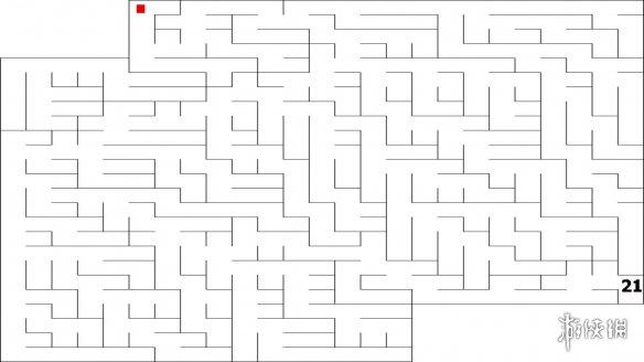 2D极简《线条迷宫2》上架Steam 2元入手最纯粹的迷宫游戏