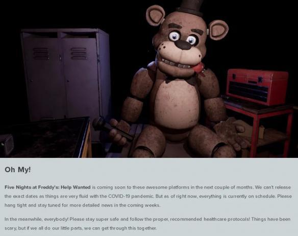 NS每日新闻 玩具熊移植或受影响 影之诗公布漫改新作
