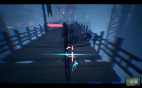日式美术风格3D平台动作游戏《BlueFire》夏季发售