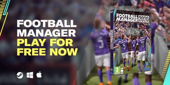 《足球经理2020》开启Steam免费试玩周活动截止至下周三